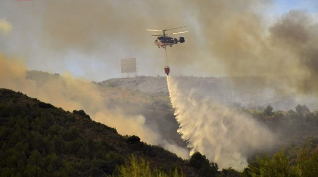 El reciclaje y los incendios forestales