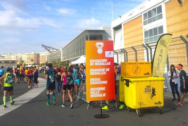 Reciclamás en la Media Maratón Trinidad Alfonso