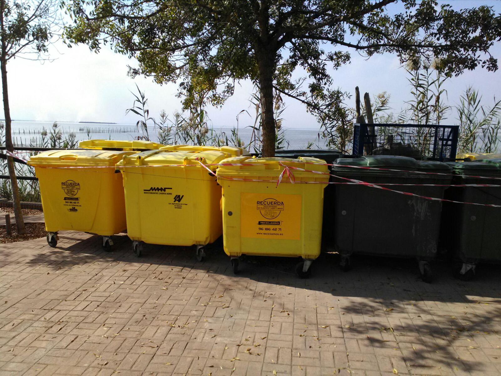 Recogida de residuos en la Albufera Reciclamás