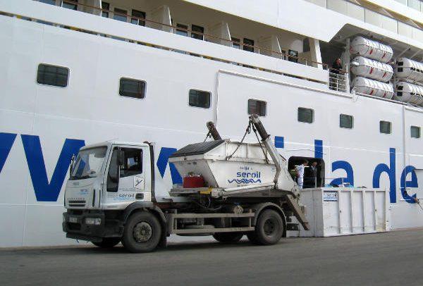 Seroil dedicada a la gestión de residuos generados en el mar
